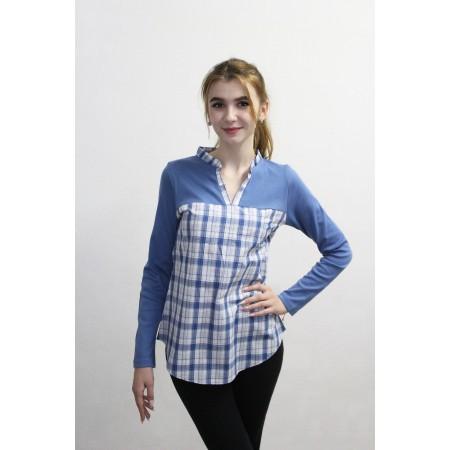 Туника для девочек Valeri-tex 2151-99-090-028-007 Синий