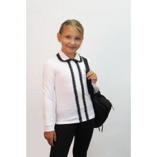 Блузка для девочек Valeri-tex 2179-99-142-002 Белый