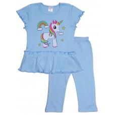 Комплект для девочек Valeri-tex 2185-55-090-008 Голубой