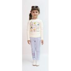Лосины для девочек Valeri-tex 2196-55-200-027-008 Голубой