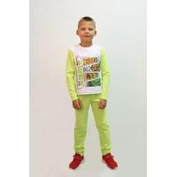 Пижама для мальчиков Valeri-tex 2207-55-357-028-002 Белый